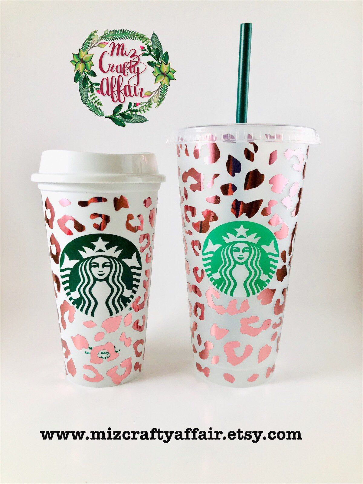 Cheetah Reusable Starbucks Venti Cup Leopard Print Starbucks Etsy In 2020 Custom Starbucks Cup Personalized Starbucks Cup Starbucks Venti