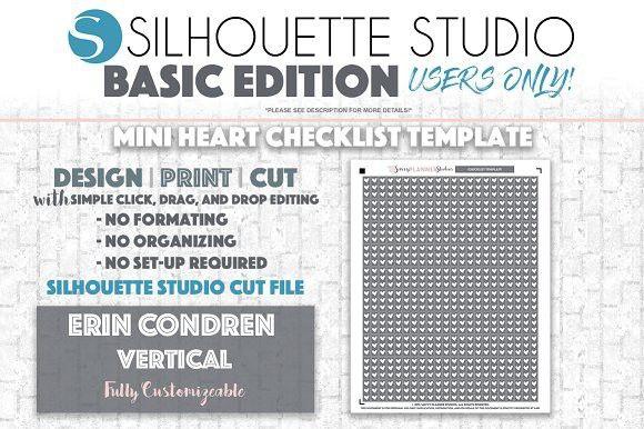 ECV BE Mini Heart Checklist Template