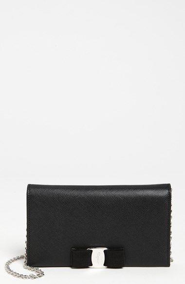 Salvatore Ferragamo 'Miss Vara' Clutch Wallet available at #Nordstrom