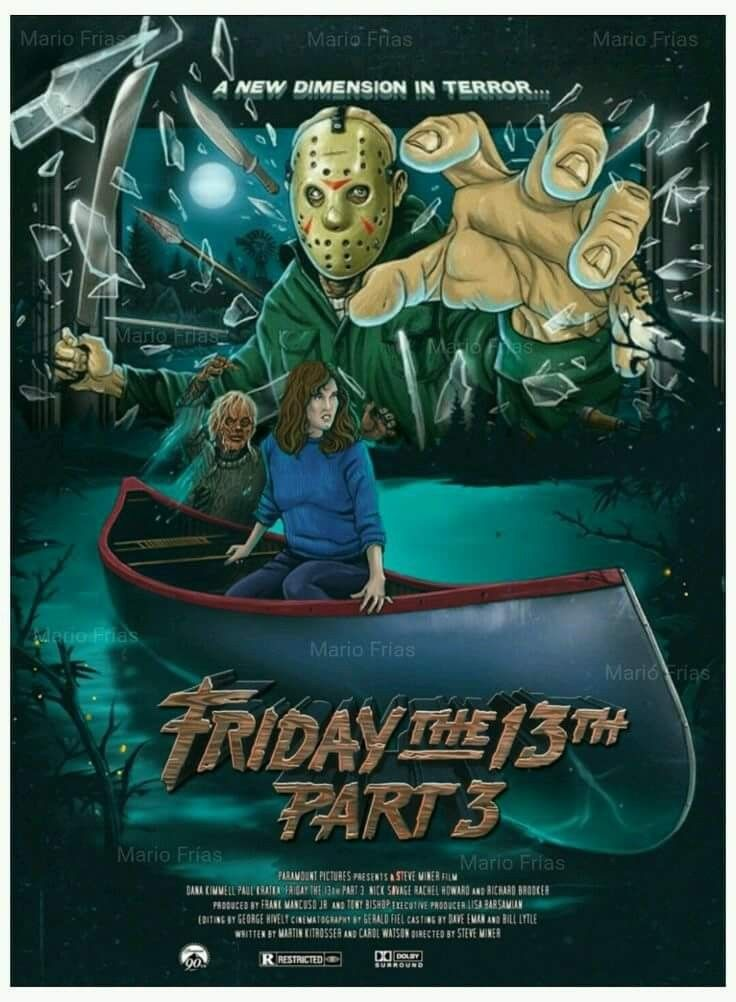 Friday the 13thpart 3 in 3d horror movie
