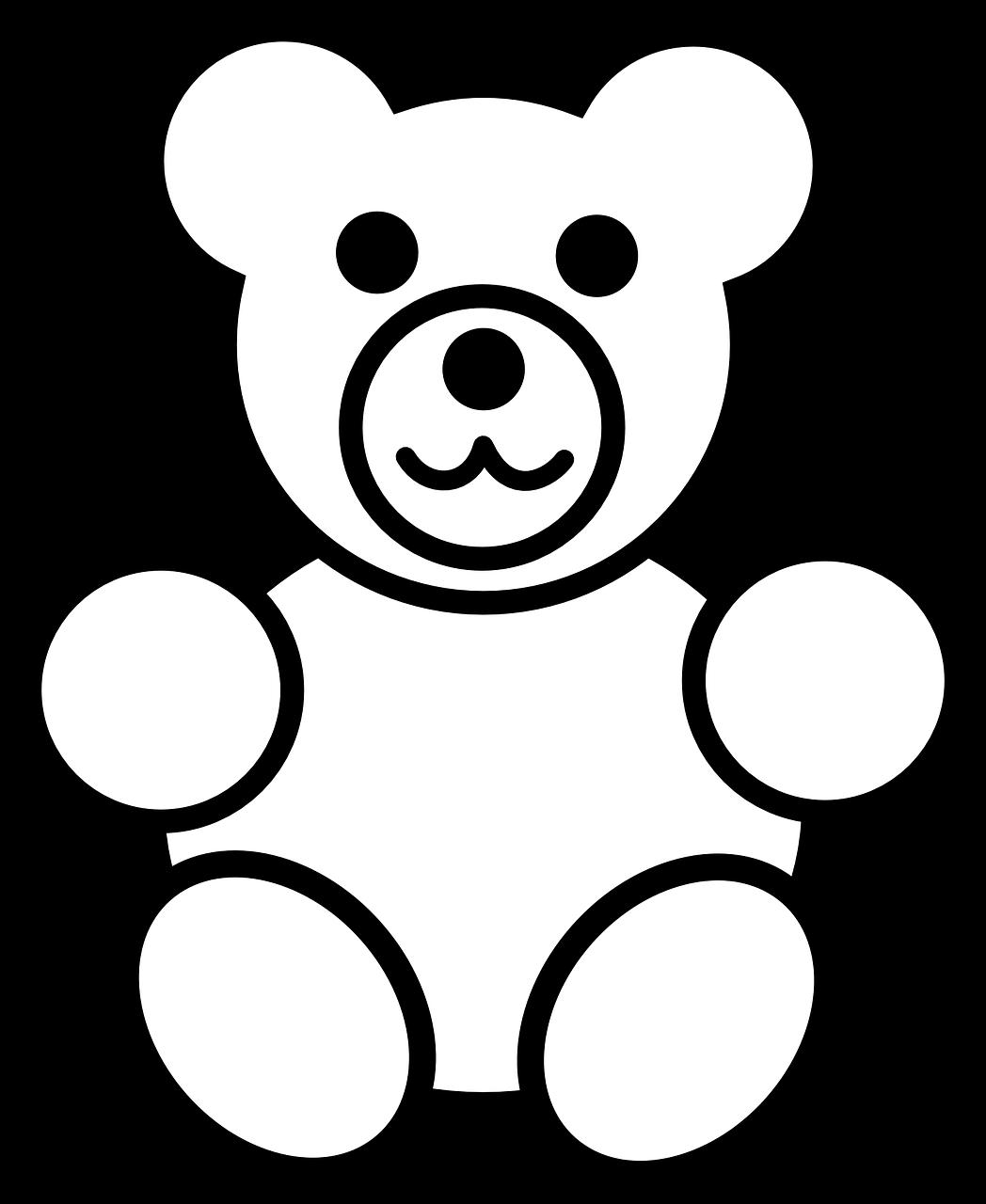 Free Image On Pixabay Teddy Bear Teddy Bear Childhood Malvorlagen Malvorlagen Tiere Kinder Zeichnen
