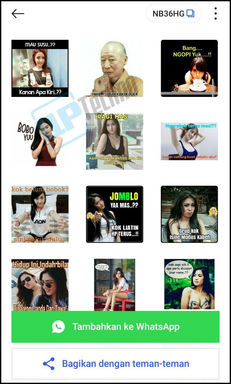 Stiker Whatsapp Ngeres Bercandaan Dewasa 18 Plus Stiker Canda Lucu