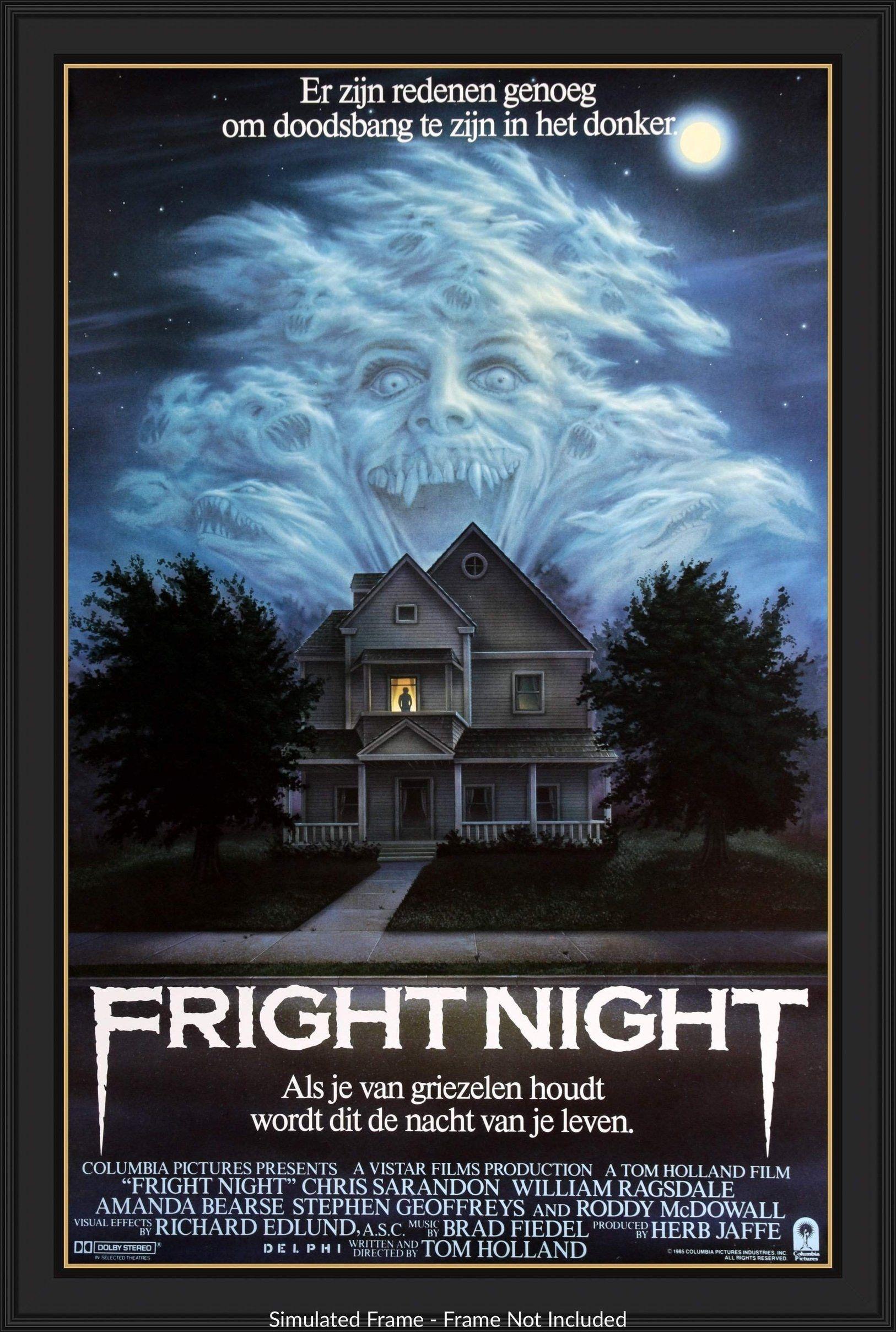 Fright Night 1985 Fright Night Tom Holland Best Movie Posters