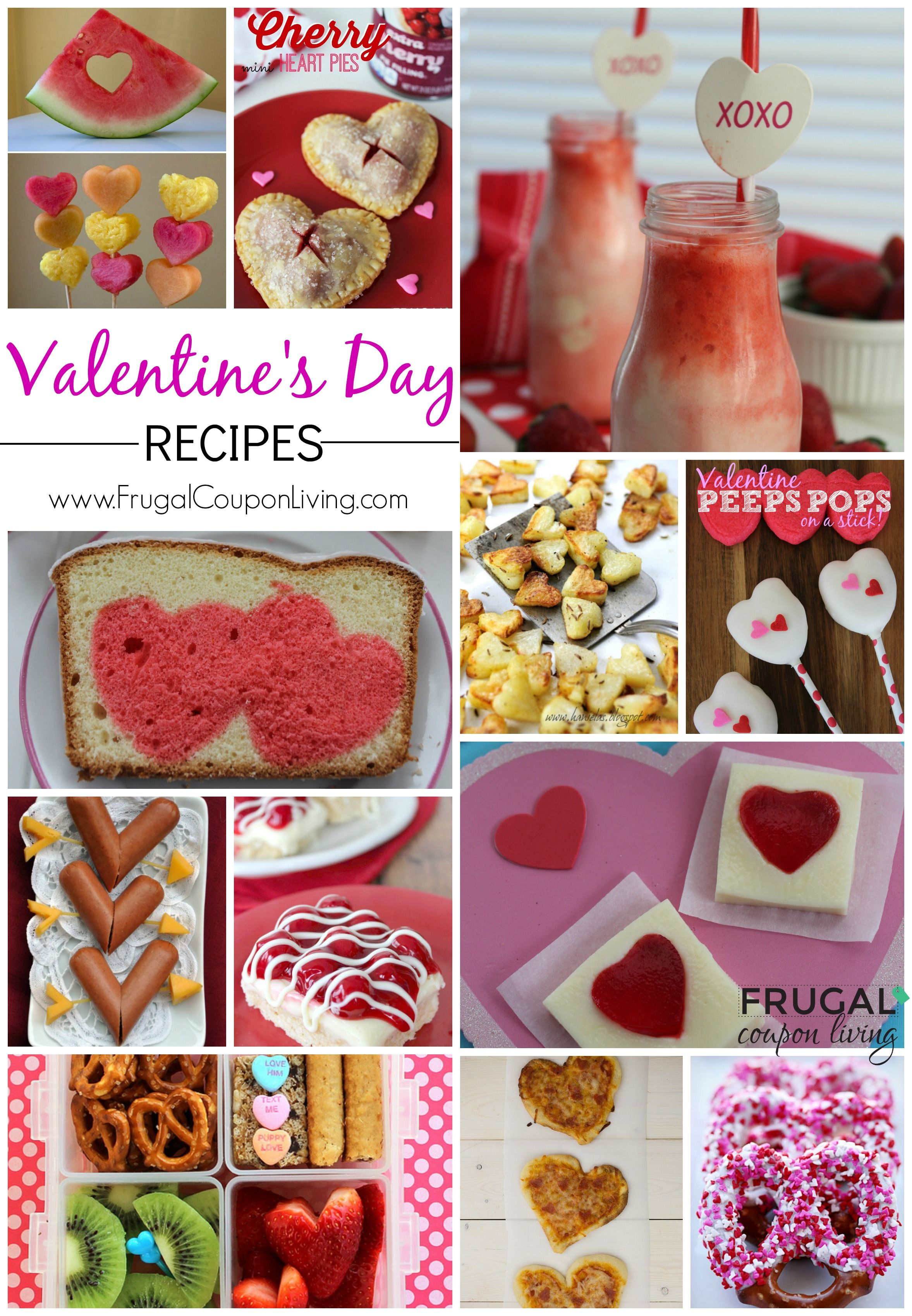 valentine 39 s day food ideas for kids and adults ten dollar diy valentines valentines for. Black Bedroom Furniture Sets. Home Design Ideas