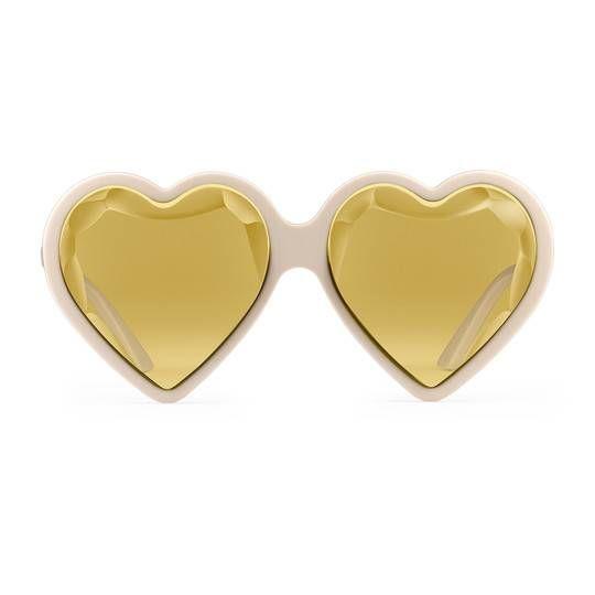 eca005e0651 Specialized fit heart-frame acetate sunglasses - Gucci Women s Sunglasses  520120J00706505