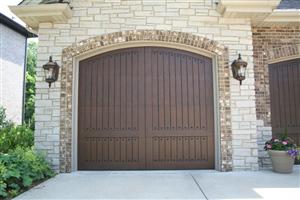 Eden Coast Magnolia With Arch W5 Garage doors