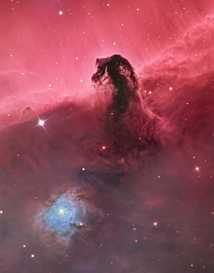 fotografia espacial Campeão de fotografia espacial: Nebula Cabeça de Cavalo, de Bill Snyder.