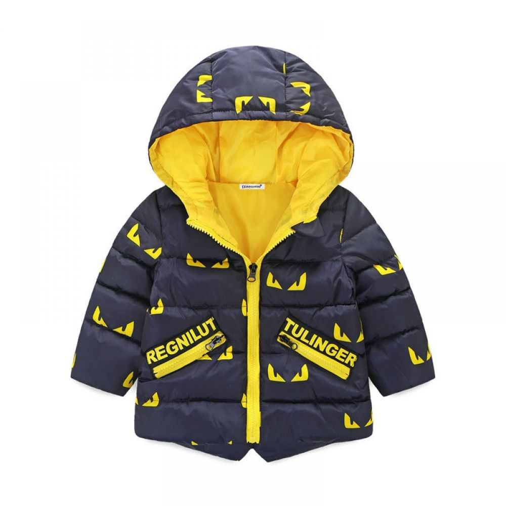Hooded Winter Jacket For Boys With Colorful Designs Kids Winter Jackets Boy Outerwear Baby Boy Jackets [ 1000 x 1000 Pixel ]