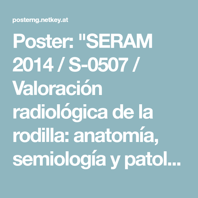 Poster: \