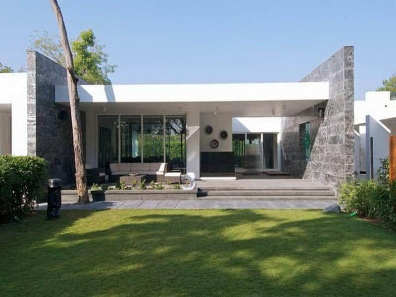Casas Modernas de una Planta u2013 Todo Fachadas Fachada casas - fachadas contemporaneas