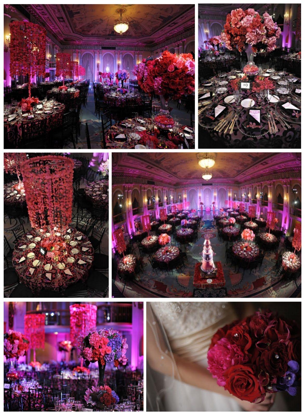 Google themes pink and black - Pink Purple Wedding Theme Title Google Search