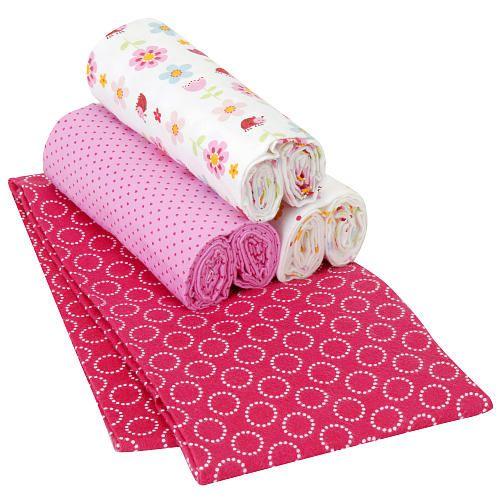 Carter S Lady Bug 4 Pack Receiving Blanket Carters