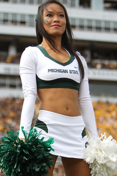 Image result for michigan state cheerleaders