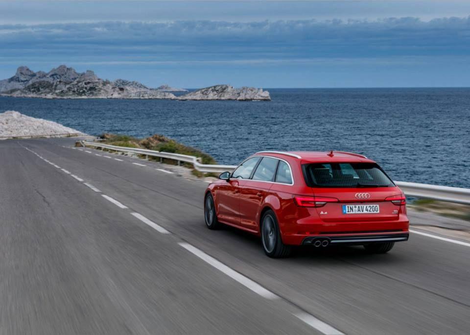 A4 nad chorwackim wybrzeżem zdjęcie Audi Hrvatska Zdjęcie