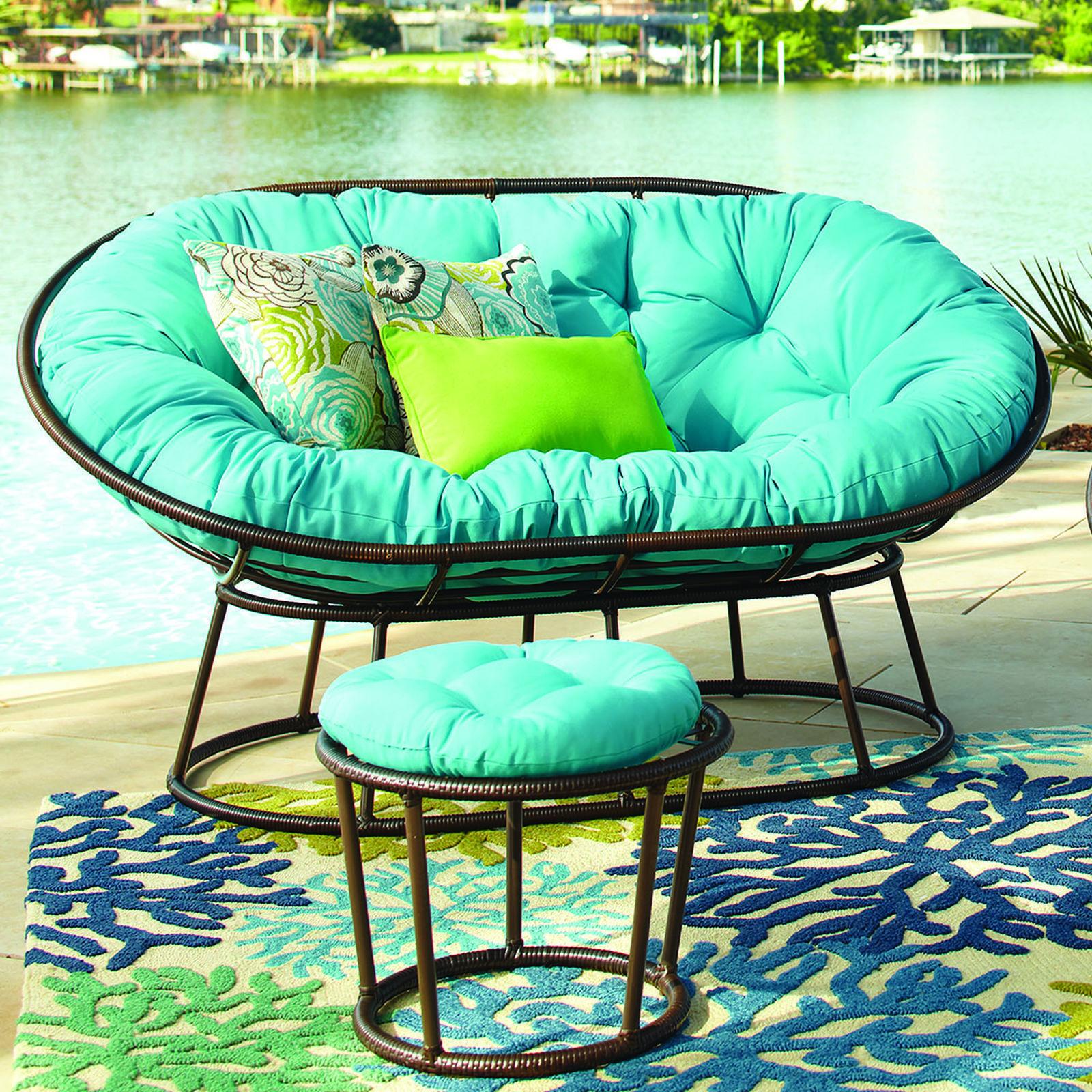 Outdoor Double Papasan Chair Frame