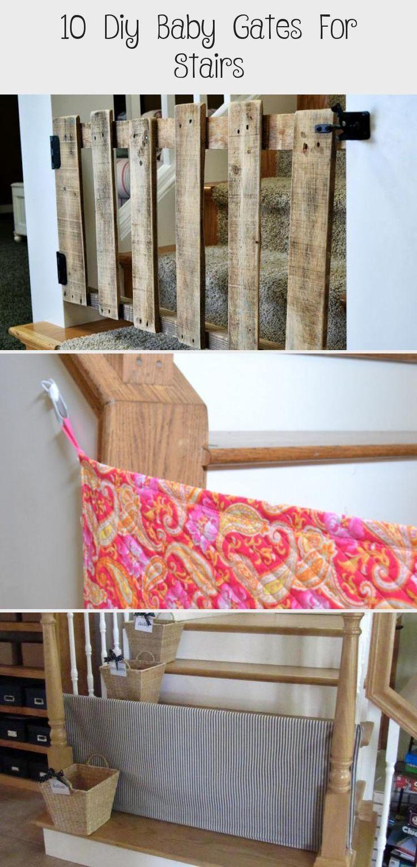 diy baby gate stairs