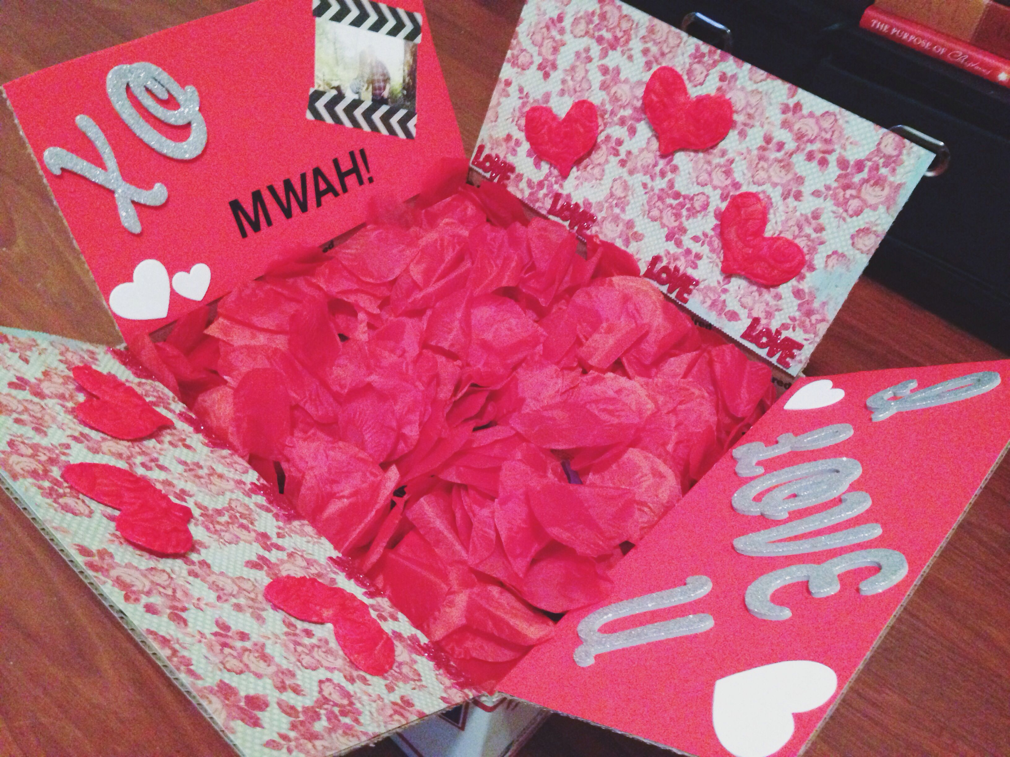 Valentine 39 S Day Care Package Care Packages Pinterest