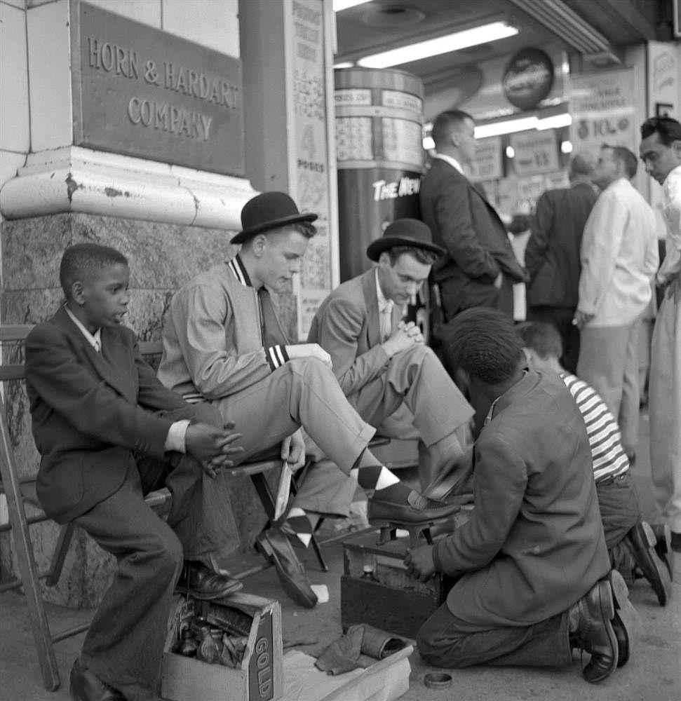"U.S. ""Shoe Shine"" 1954 in New York"