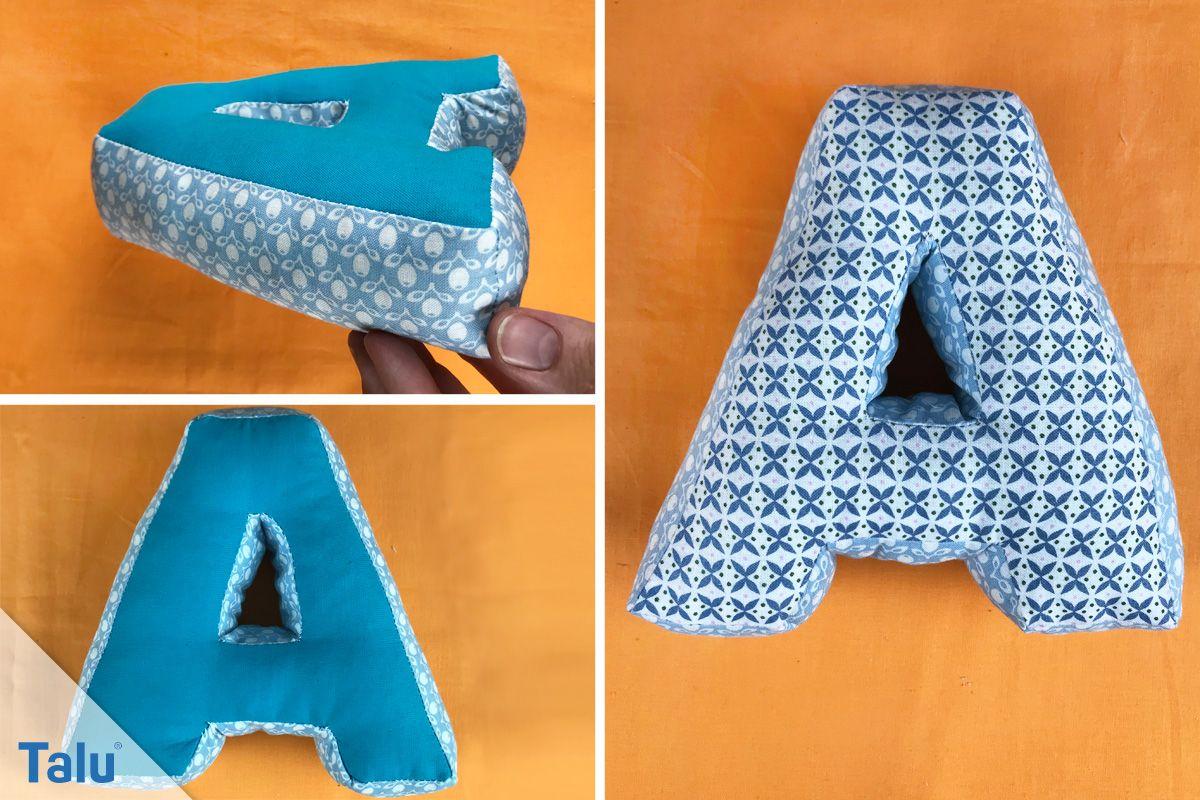 Buchstaben Nahen Anleitung Und Tipps Fur Buchstabenkissen Talu De Buchstaben Nahen Buchstaben Kissen Baby Nahen Anfanger