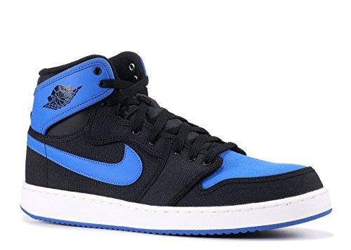 274dfc093c0156 Jordan Mens AJ1 Ko High OG BLACK SPORT BLUE  BLACK 638471-007 12 ...