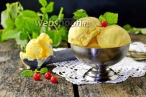 Мороженое домашнее сливочное классическое