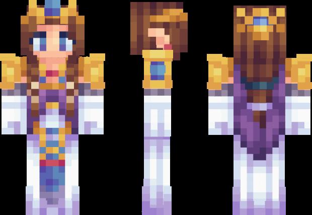 Princess Zelda Minecraft Skin Minecraft In Pinterest - Skins para minecraft zelda
