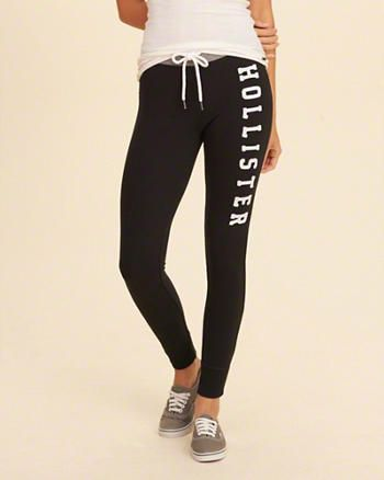 d7de48490f824 Hollister Graphic Fleece Leggings | actual Christmas 2016 ...