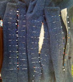 Hibernaatiopesäke: Pientä nyöripohdintaa. Small thought about lacing.