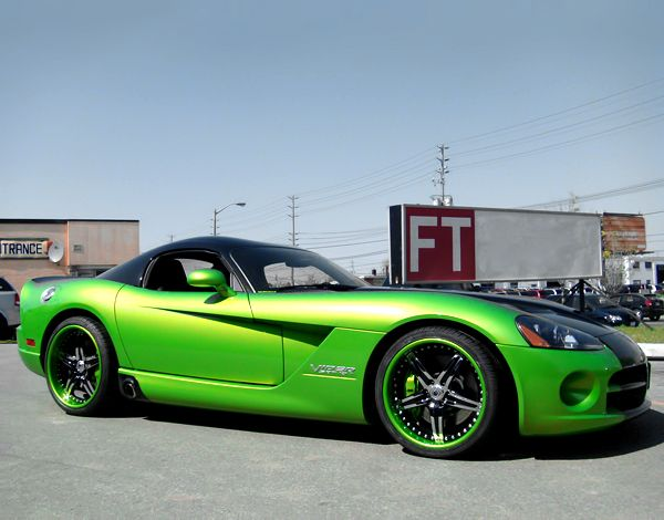 Bon AF144 Custom Painted On Dodge Viper | Fantasy Wheels | Pinterest | Dodge  Viper, Viper And Cars