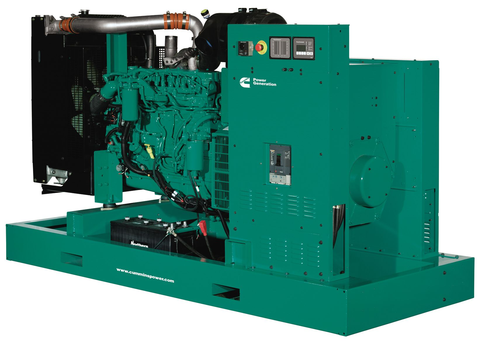 Diesel Generator Set Genset Style Generator Controller Cummins