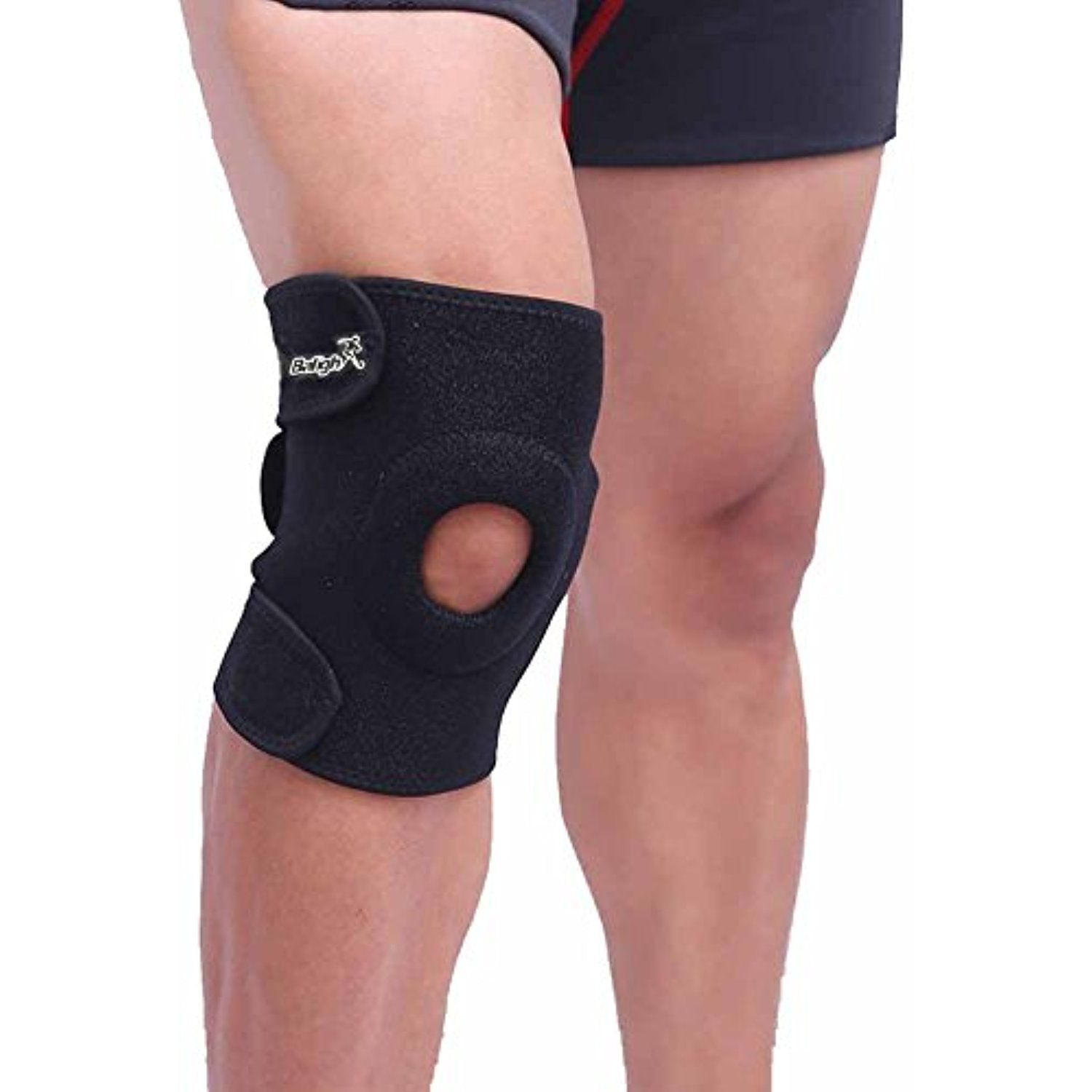 Balight Breathbale Knee Support With Open Patella Fully Adjustable