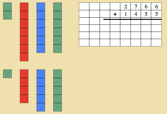Montessori Mathematics Decimal System Stamp Game Montessori Lessons Homeschool Math Montessori Math Activities