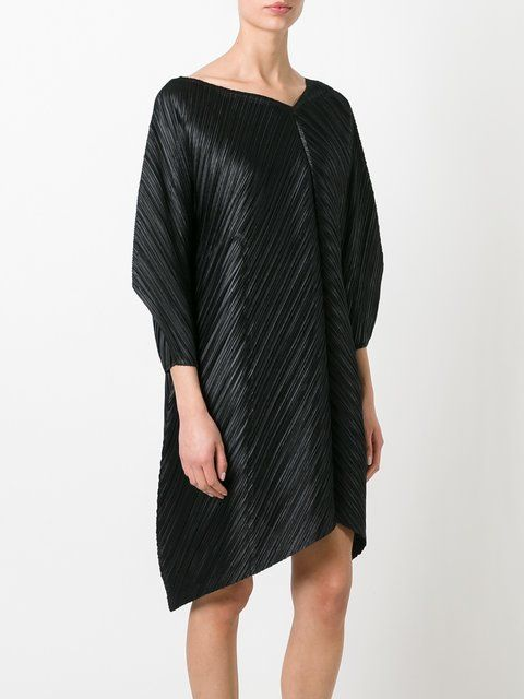 Pleats Please By Issey Miyake Pleated Dress