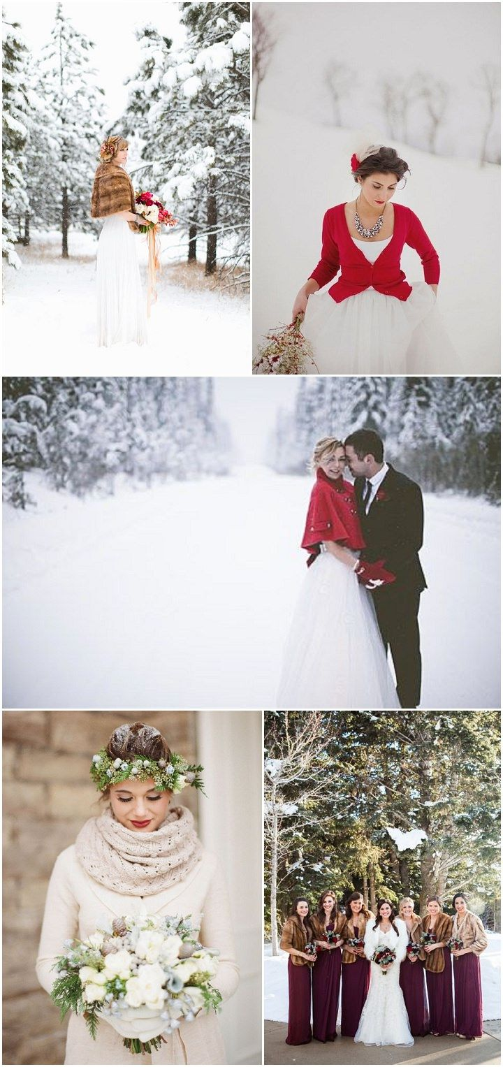 Ideas and inspiration for your winter wedding decoration flowers