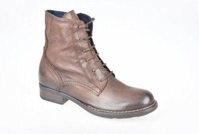 Trzewiki Botki Brazowe Tamaris 37 25223 27 6561567785 Oficjalne Archiwum Allegro Combat Boots Boots Army Boot