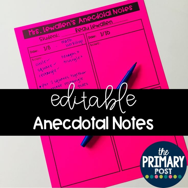 Editable anecdotal notes templates 11 templates for easy editable anecdotal notes templates 11 templates for easy assessments maxwellsz