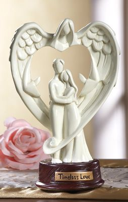 Angel Of Love Couples Wedding Gift Statue
