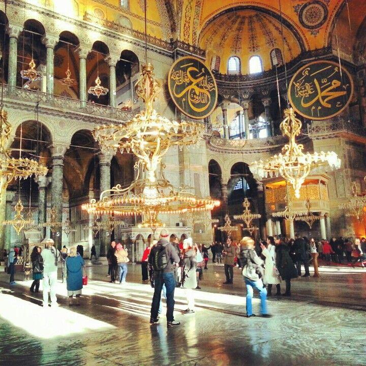 Istanbul Turkey Sainte Sophie  Photo by www.lescasserolesdenawal.fr