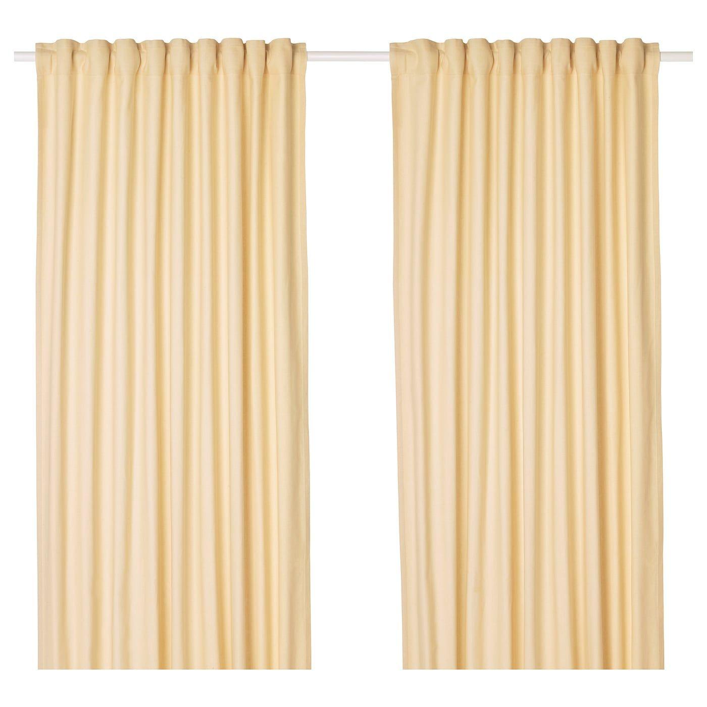 Tibast Gordijnen 1 Paar In 2020 Double Rod Curtains Double