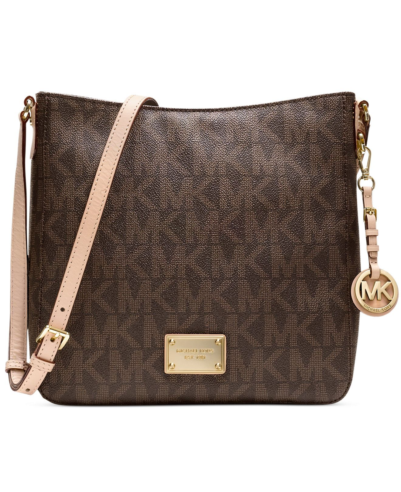 MICHAEL Michael Kors Jet Set Travel Large Messenger Bag - Handbags & Accessories - Macy's