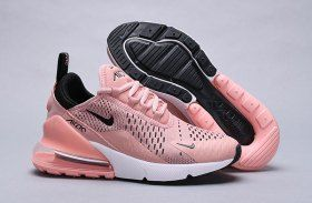 9ab31cf16e017 Nike Air Max 270 Coral Stardust Black-Summit White AH6789 600 Women s  Running Shoes Sneakers