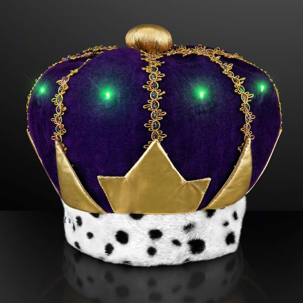 light up mardi gras king crown hat nativity ideas pinterest