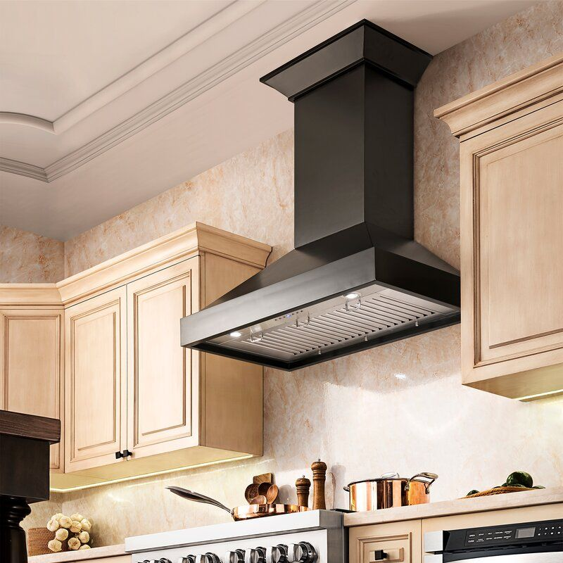 30 Hand Crafted Designer Wood 400 Cfm Ducted Wall Mount Range Hood In 2021 Range Hood Kitchen Range Hood Modern Kitchen Range Hoods