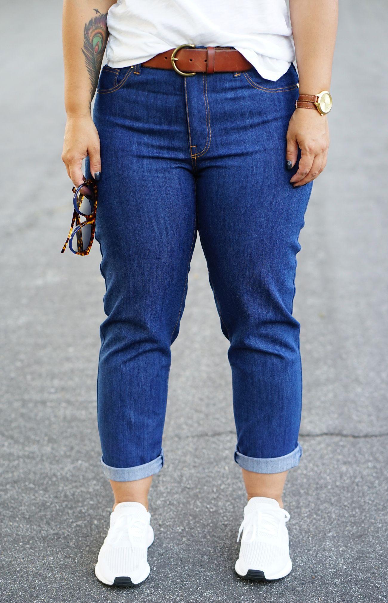 Diy Boyfriend Jeans Using Closet Case Morgan Jeans Pattern