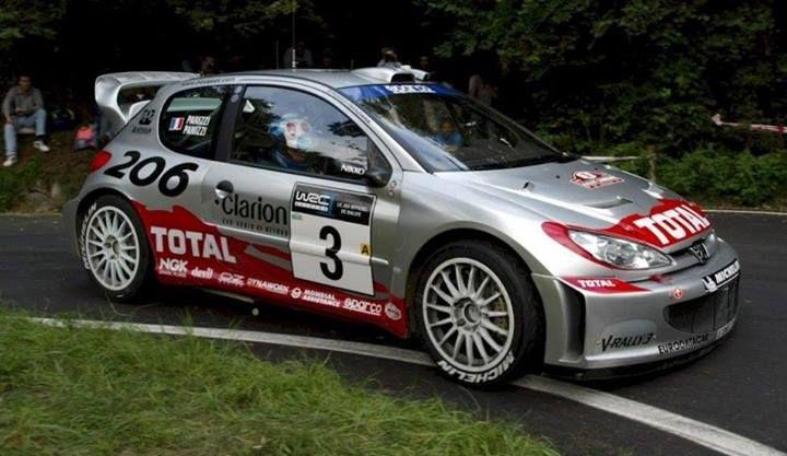 ra Gilles Panizzi - Herve Panizzi-Peugeot 206WRC (2002)-Peugeot Total-Rally San Remo 2002