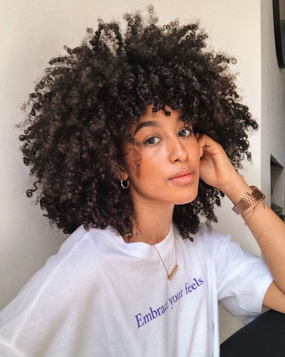 LEAL IS A UK BASED MULTIDISCIPLINARY CREATIVE WHOSE ONLINE PLATFORM GREW OUT OF DOCUMENTING HER TRANSITION TO NATURAL HAIR IN 2016. Lal has type 3C type 4A low porosity curls. #curlygirlmethod #aestheticedits #browngirlshair #blackgirlmagic #type3hair #type4hair #curls #curlygirlmethod #lowporosityhair #3chair #4ahair #haircaretips #hairgrowthtips #curlyhairstyles #curlyblackhairstyles #curlyhairroutine #naturalhaircommunity #naturalhairjourney