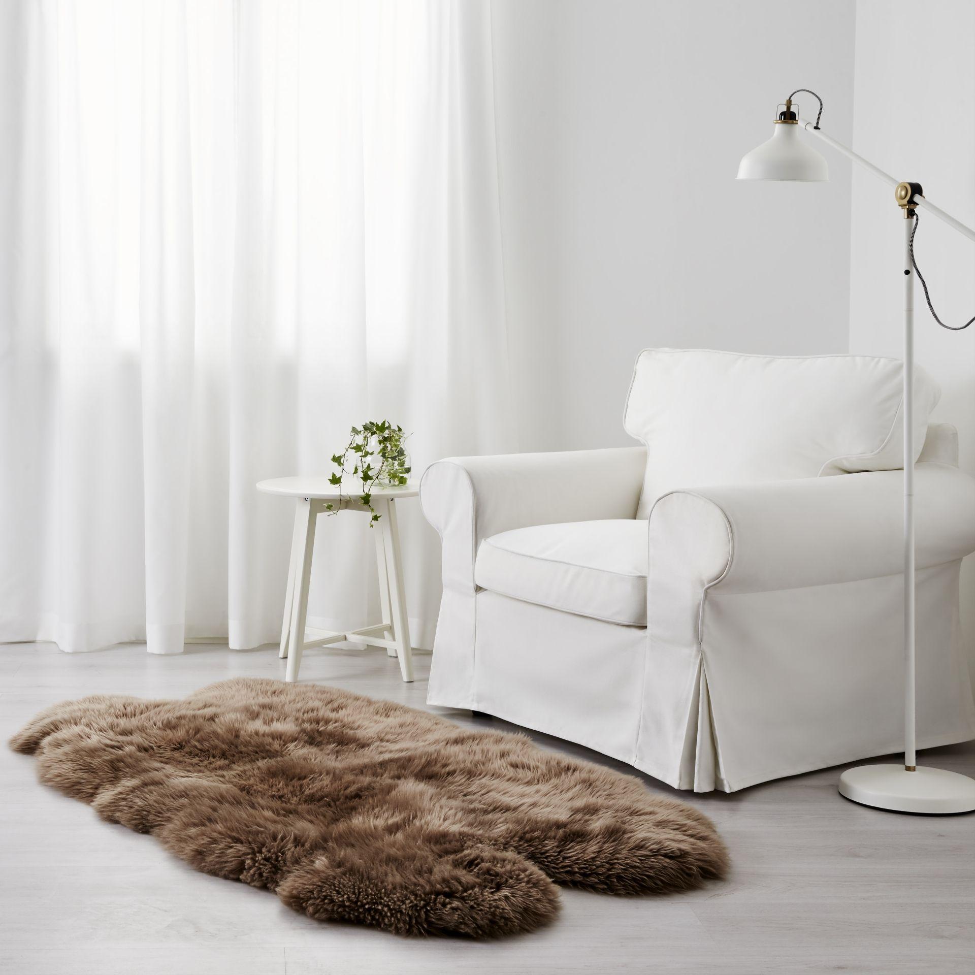 SKOLD Schapenvacht, beige - Bruin, Ikea en Wol