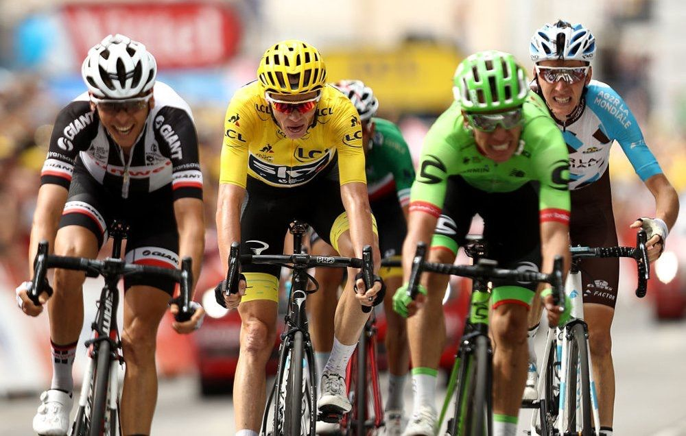 Uran wins crashed-filled TDF 2017 stage 9, Froome keeps Yellow Jersey.