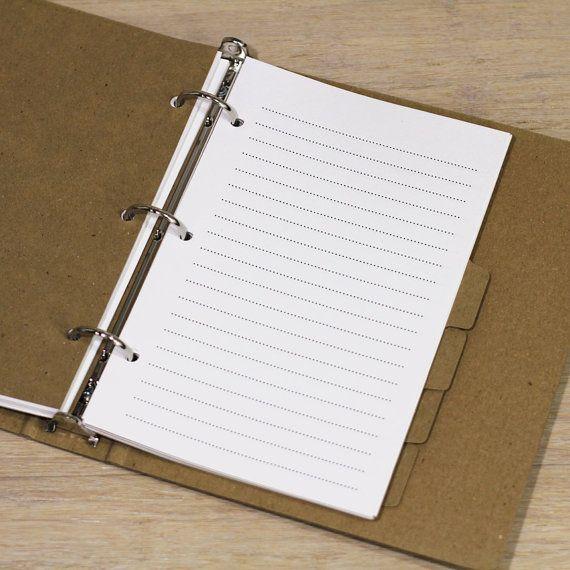 Binder, Mini Binder, Journal