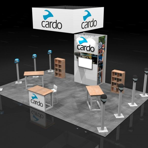 CARD00A - 20x30 Trade Show Display Rental | Trade show ...